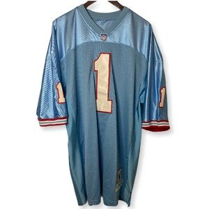 Houston Oilers #1 Moon Mitchell and Ness